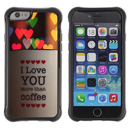 """Graphic4You """"Love Memories With You"""" Design Shockproof Anti-Rutsch Weichen Hülle Case Tasche Schutzhülle für Apple iPhone 6 Plus / 6S Plus Design #11"""