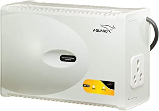 V-Guard VM 300 Voltage Stabilizer for Microwave oven, Treadmill (Grey)