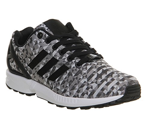 Adidas Zx Flux Weave - Sneaker pour homme Gris et blanc