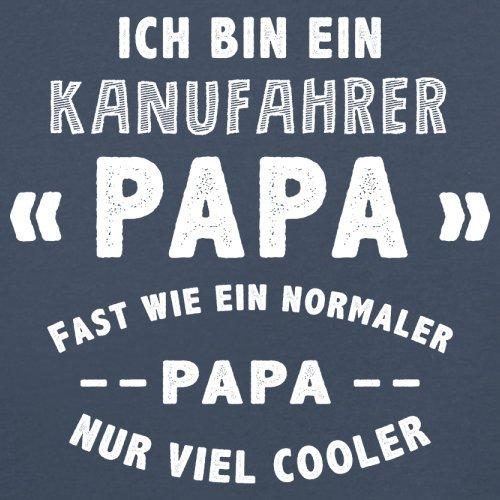 Ich bin ein Kanufahrer Papa - Herren T-Shirt - 13 Farben Navy