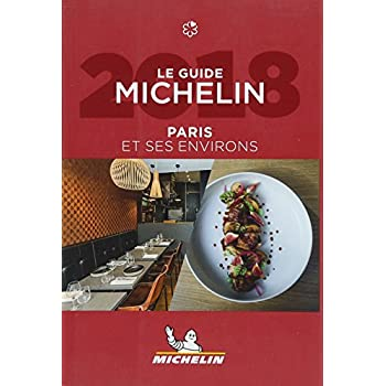 Le guide MICHELIN Paris & ses environs 2018