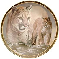 Collector plate Soul of the Wild prima neve Charles Frace HJ111 piatto