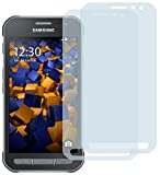 2x mumbi Displayschutzfolie für Samsung Galaxy Xcover 3 Schutzfolie