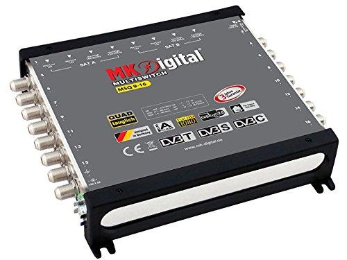 MK Digital MSQ 9-16 Multischalter mit LED-Anzeige Quad tauglich