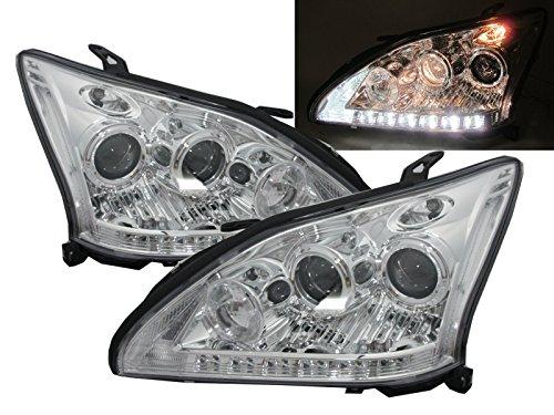 crazythegod-rx330-rx350-rx400h-xu30-2003-2009-dual-projector-headlight-chrome-for-lexus-rhd