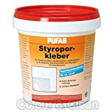 Pufas Styropor- und Renoviervlies-Kleber 1kg Styroporkleber Renoviervlieskleber