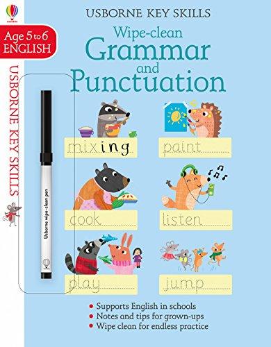 Wipe Clean Grammar And Punctuation 5-6 (Key Skills)