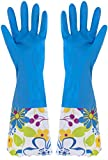 Küchenhandschuhe Reinigungshandschuhe Wasserdichte Latexhandschuhe Wäschehandschuhe