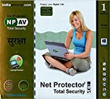 #9: Net Protector Total Security 2018 - 1 PC, 1 Year (CD)