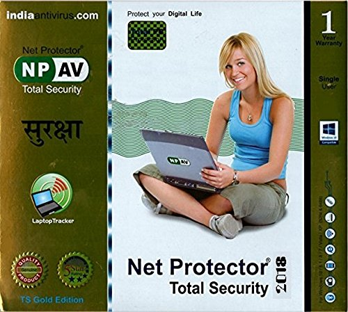 Net Protector Total Security 2018-1 PC, 1 Year (CD)