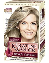 kratine color coloration permanente 91 blond clair cendr - Coloration Blond Clair Cendr