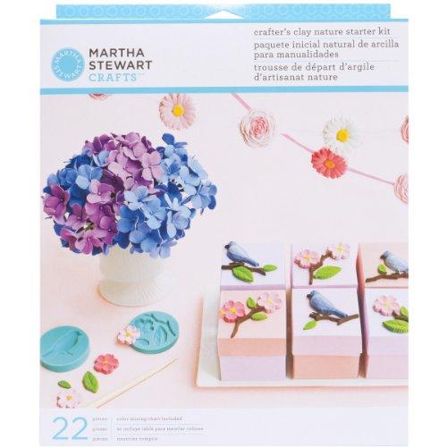 Unbekannt Wilton Marken Inc Martha Stewart Nature Starter Kit Essent Blume (Natur 00001)