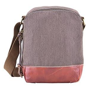 51x1qo82DGL. SS300  - GOOTIUM Bolso de Hombro para Mujer, marrón (Marrón) - 50926BR