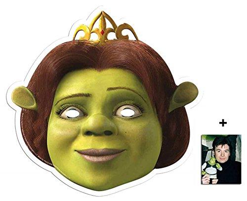 Princess Fiona Single Karte Partei Gesichtsmasken (Maske) Enthält 6X4 (15X10Cm) starfoto