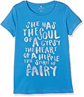 NAME IT Girls�?? Nitkira Ss Top Nmt T-Shirt, Blue (Campanula), 134