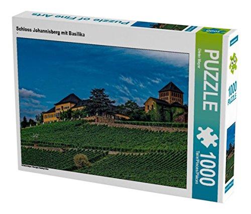 Preisvergleich Produktbild Schloss Johannisberg mit Basilika 1000 Teile Puzzle quer: Rheingau Riesling Kultur (CALVENDO Natur)