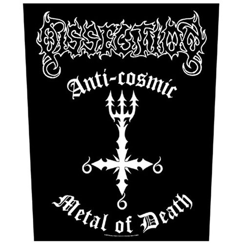 Dissection - Backpatch Anti Cosmic (in 23,5 cm x 20 cm)