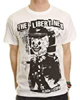 Official T Shirt THE LIBERTINES White ALBION All Sizes