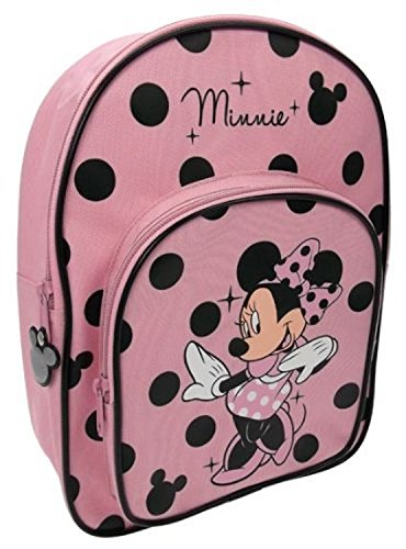 Image of Minnie Mouse Backpack ( Pink/ Black)