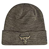 New Era Chicago Bulls Cuff Knit Engineered Fit Olive/Black - One-Size