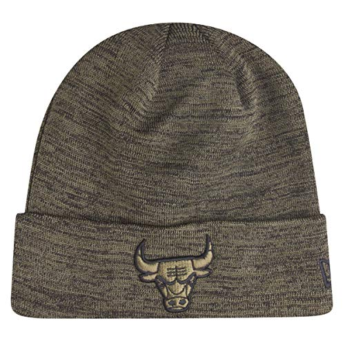 A NEW ERA Era Chicago Bulls Cuff Knit Engineered Fit Olive Black - One- 00df68ce2a71