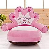 VERCART Sessel Schlafsofa für Kinder In Outdoor Sitzsäcke Kissen Sofakissen Hocker Sitzkissen Bodenkissen mit Styropor Füllung Möbel Rosa