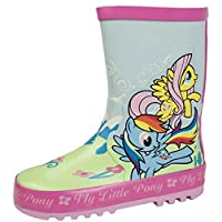 Girls My Little Pony Glitter Wellington Boots 2 Character 11