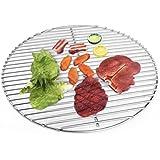 Grille en acier inoxydable 44,5cm tout en 5mm. Pour Barbecue boule 45,46,47cm Convient également pour Weber et beaucoup plus