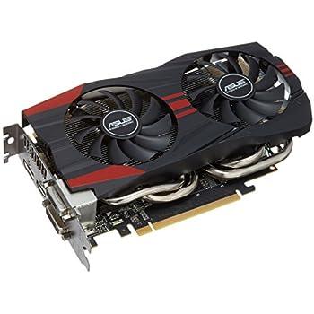Asus VGA GTX760-DC2OC-2GD5 NVIDIA Grafikkarte (PCI-e, 2GB, GDDR5 Speicher, VGA 1, GPU)