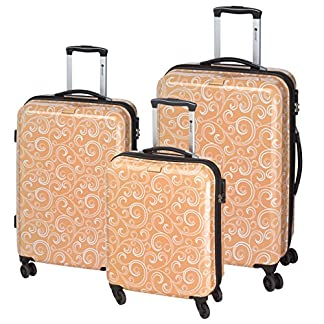 CHECKIN-Bombay-4-Rollen-Kofferset-3tlg