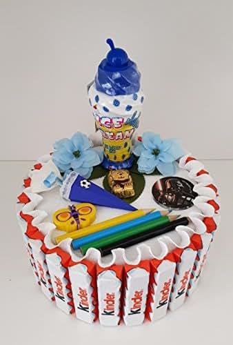 Schultüte, Zuckertüte, Kinderschokolade Torte für Jungen