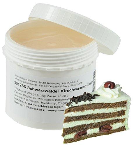 Hobbybäcker Schwarzwälder Kirschwasser-Paste ► Zum Verfeinern von Eis, Pralinen, Desserts & Tortencremes, 220g