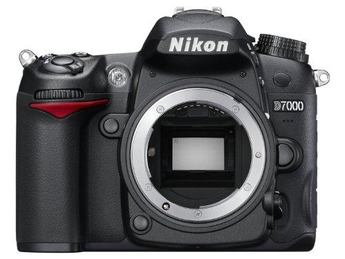 Nikon D7000 Appareil photo numérique Reflex 16.2 Boîtier nu Noir
