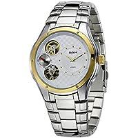 Uomini daffari orologio/Orologio da uomo in acciaio per il tempo libero/ impermeabile forma vuota/ double-movimento orologio-A