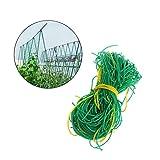 GLUK und langlebigem Nylon Pflanze-Gitter Netz Gartennetze für Kletterpflanzen, Rebe und Veggie (5.9ft X 8,9FT)
