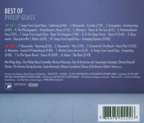 Best of Philip Glass [Import allemand]