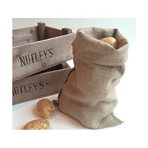 Nutley's Sac de stockage en toile de jute Marron 30x 45cm
