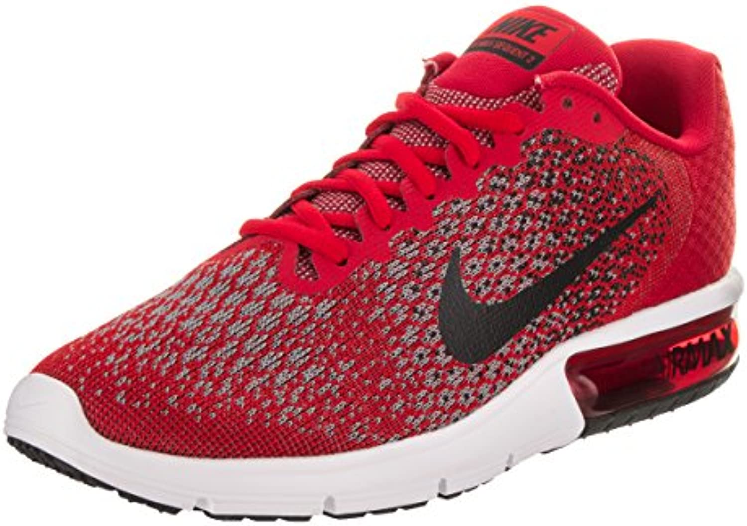 Nike Nike Air Max Sequent 2 - university red/black-black-coo