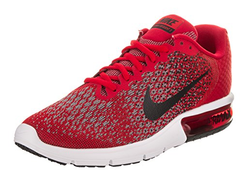 Nike Men's Air Max Sequent 2 Running Shoe - University Red