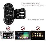 Lettore DVD per auto Lettore DVD GPS GPS universale Telecomando senza fili Pulsante per volante Navigazione DVD / 2 Din Controllo radio con telecomando Bluetooth