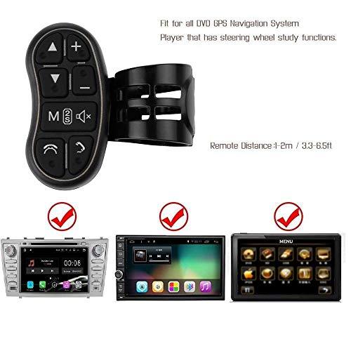 Für Auto Navigation DVD / 2 din Radio Bluetooth Lenksteuerung Universal Auto DVD GPS Player Drahtlose Fernbedienung, Lenkrad Fernbedienung Taste
