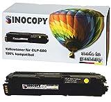 SinoCopy XXL Yellow Toner für Samsung CLP-680 Y 3.500 Seiten kompatibel zu Samsung CLP-680 DW ND Series CLX-6260 FD FR FW ND - CLT-K506L C506L M506L Y506L
