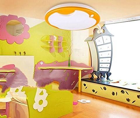 Jingzou Moderne minimaliste Apple lampe de chambre lampe led plafond étude 32CM 15W