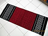 #6: Peponi Multicolour Bed Side Rugs (55X22) inchs
