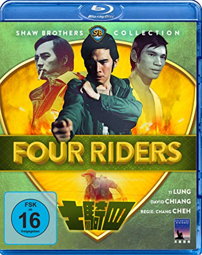 Four Riders (Shaw Brothers Collection) (Blu-ray) (Ti Hill)