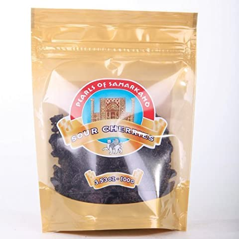 Org Dried Sour Cherries 100g by Pearls of Samarkand
