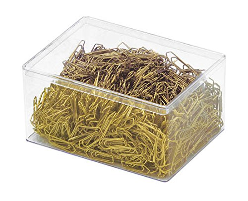 wedo-9101500-clips-metalicos-26-mm-revestimiento-de-plastico-caja-de-1500-unidades-color-laton