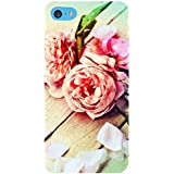 For Apple IPod Touch 6 Beautiful Flower, Flower, Pink Flower, Wood Board Designer Printed High Quality Smooth Matte Protective Mobile Pouch Back Case Cover By BUZZWORLD