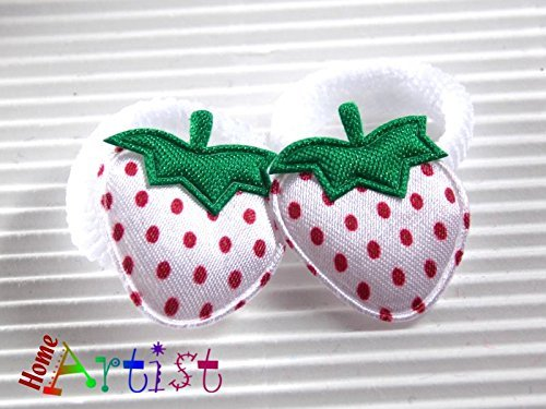 Baby Haargummis Zopfgummi Erdbeere - freie Farbwahl