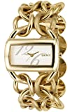 DKNY Damen-Armbanduhr Analog Quarz Edelstahl beschichtet NY4366